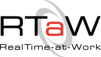 RealTime-at-Work (RTaW) Logo