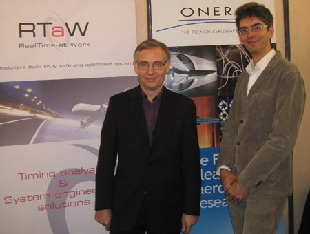 ONERA and RTaW sign scientific partnership at ERTSS 2016